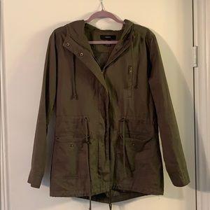 hunter green utility jacket!!!